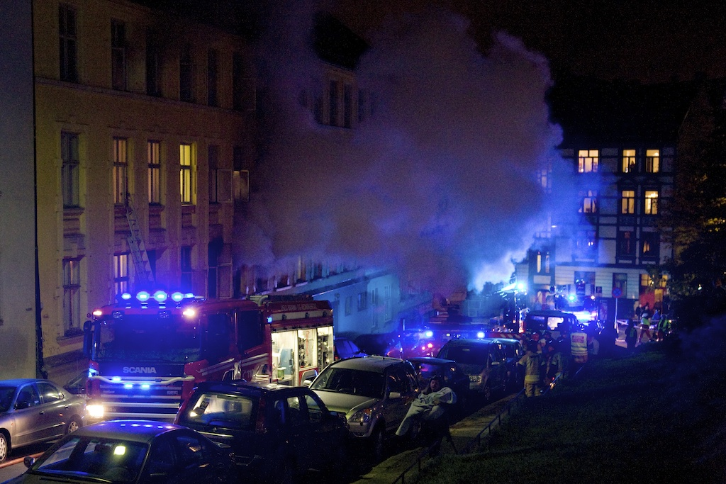 Brann i Fougstadsgate i Oslo