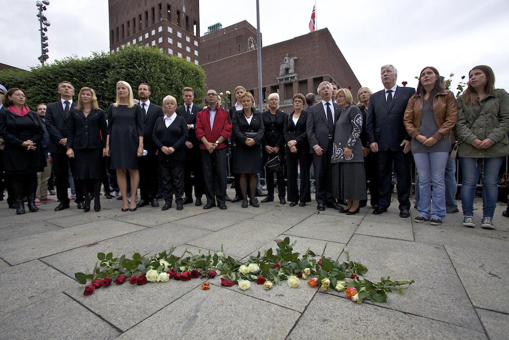 Roseseremony in Oslo